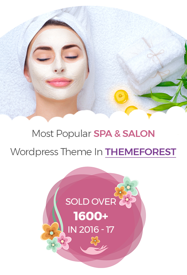 WellnessCenter Beauty Spa salon WordPress Theme - 1